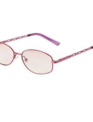 [Free Lenses] Metal Rectangle Full-Rim Reading Eyeglasses