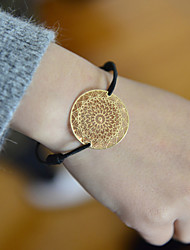 Fashion Women Spide Net Cut Out Stamping Elastic Bracelet