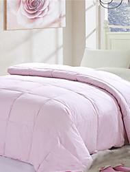 Yuxin® Pink White Cream-colored Super Soft Warm W180×L220cm Down Quilt
