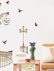 adesivi murali decalcomanie della parete, lampioni autoadesivi della parete del PVC