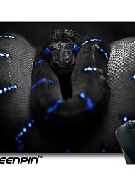 seenpin personalizado mouse pads projeto da serpente negra