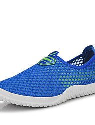 Summer men's and women's shoes or lend the shoes breathable single net face sneakers loafers flats a pedal lazy shoes