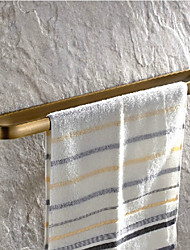 Antique Brass Finish Brass Material Towel Bars