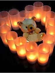 Romantic LED Candle Pattern Night Light(1PS)
