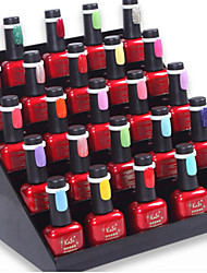 50st nail art polish / uv gel kleurenscherm ring