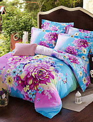 Grinding Mao Quan Cotton Twill Fabric Bedding Four Pieces