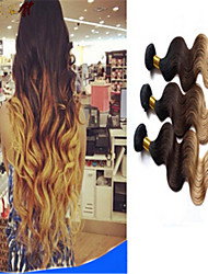 Natural Color Hair Weaves Brazilian Texture Body Wave hair weaves
