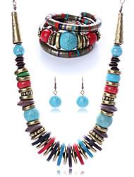 (Necklaces&Earrings&Bracelets&) Gemstone Jewelry Sets(color)