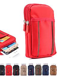 Pour Portefeuille Coque Bolsa Coque Couleur Pleine Flexible Tissu pour UniverseliPhone 6s Plus/6 Plus iPhone 6s/6 iPhone SE/5s/5 iPhone