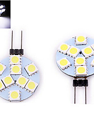 LED à Double Broches Blanc Chaud / Blanc Froid ding yao 1 pièce G4 9 SMD 5050 200 LM DC 12 V