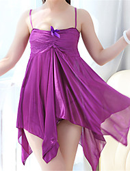 Women's Organza Chemises & Gowns/Ultra Sexy Translucence Backless Nightwear