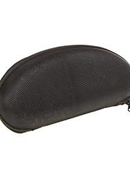 protetora caso zipper difícil para vidros - preto