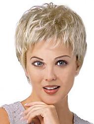 European and American  Fashion  Silver Short Hair Wig
