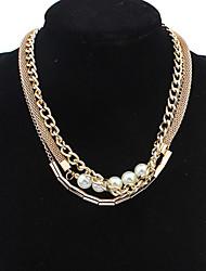 petite doux vent socialite collier de perles de belle Boximiya femmes