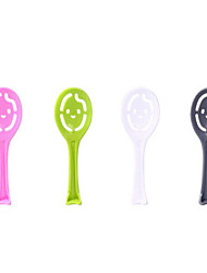 Japanese Cute Smiley Shape Spoon  (Random Color)