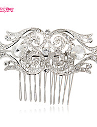 Neoglory Jewelry Hair Comb Tiara with Clear Rhinestone for Lady Bridal/Wedding/Daily/Pageant