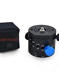 bola de cabeça 10 intervalos de parada grau de indexação diferentes cabeça panorâmica tripé mengs® câmera dh-55d (5 ° - 90 °)
