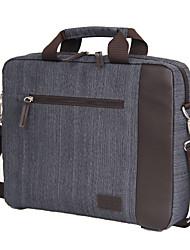14.1 '' mensajero bolsa de tela bolsa de ocio de moda bolsa de ordenador portátil