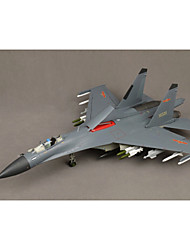 statique modèle de simulation militaires entre la Chine j-11 modèle de chasseur 01:32