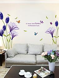 Autocollant Mural - Violet - Nouveauté  - en Plastique