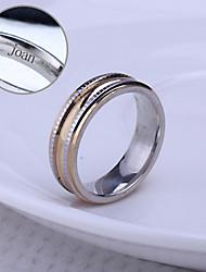 персональный подарок унисекс кольцо из нержавеющей стали выгравировано ювелирных изделий