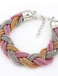 Abby Women's Knitting Alloy Bracelet