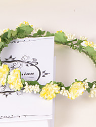 Women/Flower Girl Paper Wreaths With Wedding/Party Headpiece