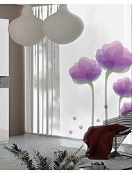 adesivos de parede adesivos de parede, parede de lótus roxa pvc adesivos