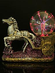 a modelagem transporte relâmpago luminoso cristal eletrostática bola mágica