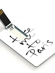 32gb llevarme a sartenes tarjeta de diseño de una unidad flash USB