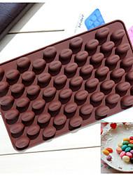Мода силиконовой фасоль шоколад плесень форма льда желе инструменты конфеты кухня кулинария украшения торта выпечки торта