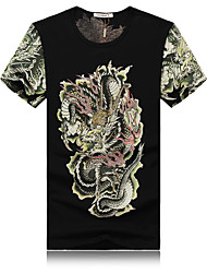 In 2015, the new Chinese style short sleeve T-shirt