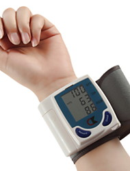 Automatic Wrist Watch Electronic Blood Pressure Monitor