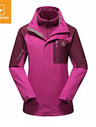 Women's Waterproof Jacket Detachable Cap Keep Warm Windproof Waterproof