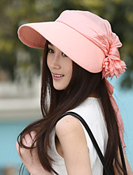 Women Cotton Floppy Hat , Cute/Casual Summer