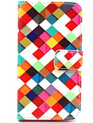 Pour Coque Nokia Portefeuille Porte Carte Avec Support Coque Coque Intégrale Coque Forme Géométrique Dur Cuir PU pour NokiaNokia Lumia