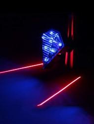 Mountain Bike / Fixed Gear Bike Overige Plastic LED-licht Rood / Blauw / Groen / zilverachtig