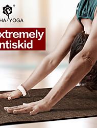 Yoga Mats 13*13*61 Non Slip / Kleverig / Non Toxic / Waterdicht / Geurvrij / Extra Lang / Milieuvriendelijk 5 Wit / Groen HATHA