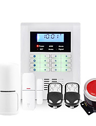 GSM and PSTN Alarm System Wireless Home Security System