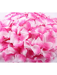 Set of 100 Double Color Color-Changing Petals Rose Petals Table Decoration (Assorted Color)
