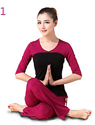 Yoga Clothes Suit 2015 Spring New Female Yoga Clothes Dance Clothes Fitness+10128