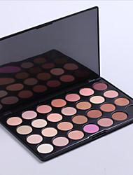 Earth Tone 28 Color Neutral Warm Eyeshadow Cosmetic Palette Eye Shadow Makeup(Model 1)