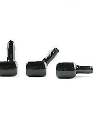 SHUNWEI® Car Cigarette Lighter Electronics 1-to-2 Universal 90 Angle Rotation Cigarette Lighter Power Socket