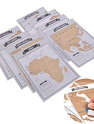 творческий путешествии журнал царапина на карте