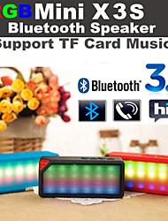 rgb led knippert x3 mini draadloze bluetooth speake audio muziek spreker witte mic tf fm rgb voor iphone6 samsung s6