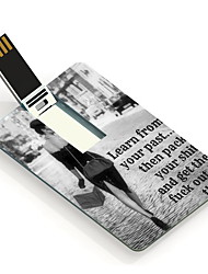 8GB Your Past Design Card USB Flash Drive