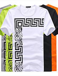 NETS Men's  Interlock Printed Short-Sleeve Shirt