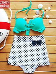 Muairen® Women'S WaiSt Cover Belly Hanging Neck Double Bijinibo Point SwimSuit