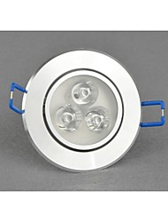 Bestlighting 6 W 3 High Power LED 400-450lm LM 3000-6500K K Warm White/Cool White Rotatable LED Downlights AC 100-240 V