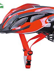 Sporten/Half Shell - Fietsen/Recreatiewielrennen/Sneeuwsporten/Ski/Schaatsen - Helm ( Rood , PC/EPS ) - voor Dames 24 LuchtopeningenOne